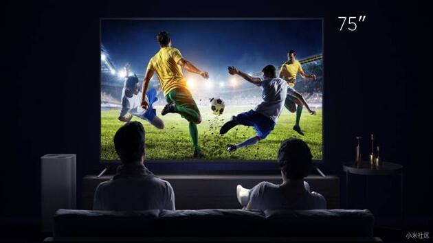 Xiaomi запускает «мамонт» 75-дюймовый Mi TV 4 с помощником голоса AI;